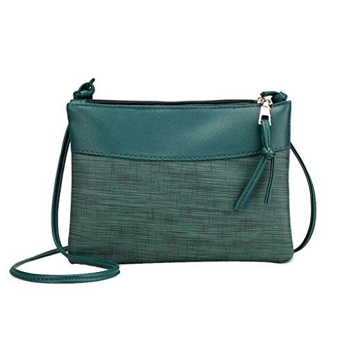 o Schulter Beutel Einzel Umhängetasche Tote Handtasche (Grün) (Handtasche Tote)