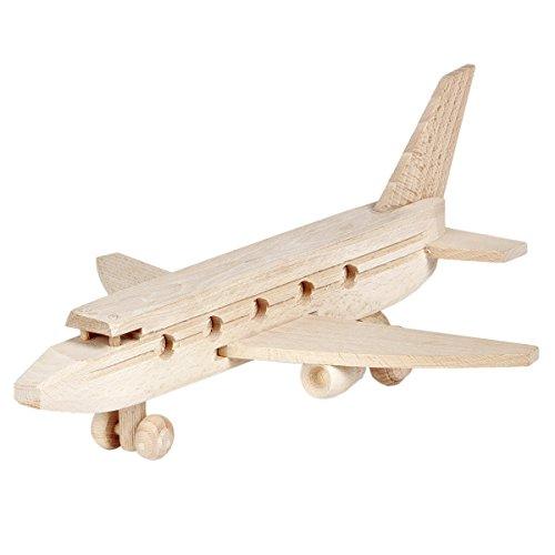 Holz Flugzeug Passagierflugzeug Spielzeug Holzspielzeug Fliegen