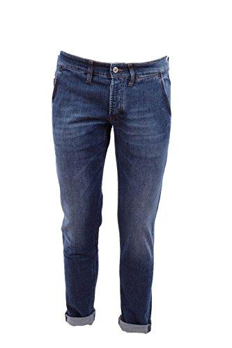 Pantalone Uomo Siviglia 40 Denim 28n2 S404 Autunno Inverno 2015/16