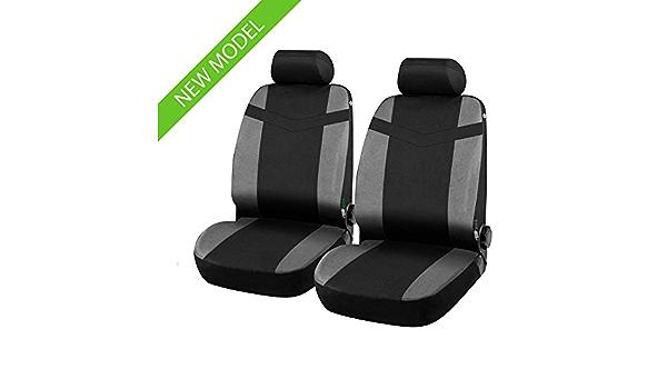 compatibili con sedili con airbag con Fori per i poggiatesta e bracciolo Laterale Coprisedili Anteriori Swift Versione 2004-2017
