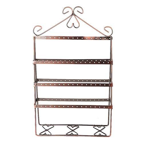 Betued 119 Löcher Metallschmuck Display Rack Ohrstecker Tropfen Display Rack hängen Ständer Lagerung Inhaber für Finishing ordentlich -