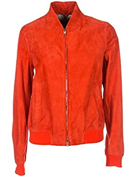 Herno Giacca Outerwear Donna PL0075D180546010 Camoscio Rosso