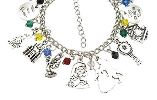 'Beauty und The Beast' Kinder-Charm-Armband mit Geschenk-Box Mädchen Schmuck - 4