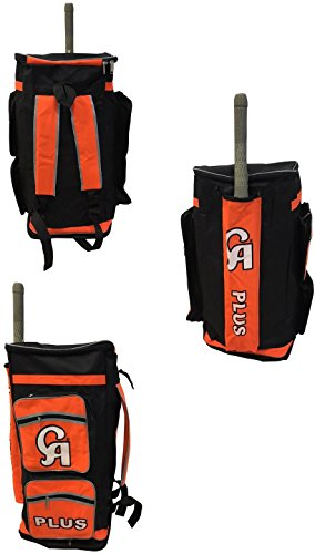 2018 ca Plus schwarz orange Robust Duffle Cricket Tasche * * * NEU * *