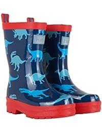 Hatley Dino Shadows Wellington Boots