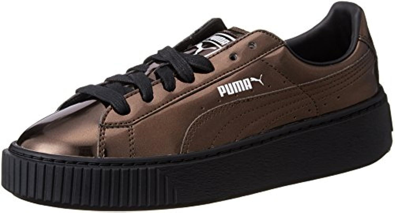 Puma Platform Metallic Black 36233903 Turnschuhe 2018 Letztes Modell  Mode Schuhe Billig Online-Verkauf
