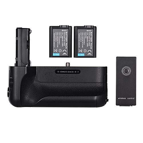 PKA Vertikaler Batteriegriff Ersatz-Kameragriff Mit NP-FW50-Akku 2,4G-Fernbedienung Für Sony A7II / A7M2 / A7R2 Digitale SLR-Kamera
