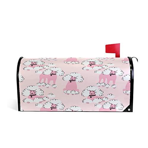 ZZKKO Briefkastenabdeckung, magnetisch, Größe L, 63,5 x 5,8 cm, Rosa -