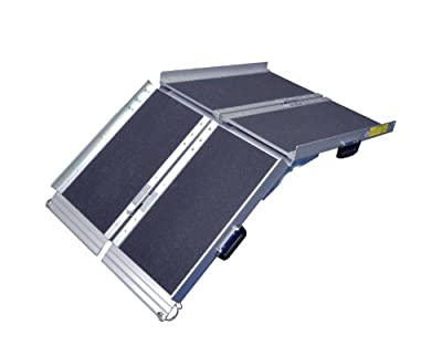 Aidapt Tri-Fold Suitcase Ramp with Non-Slip Surface (4ft or 6ft)