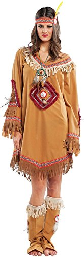 Disfraces Chiber - Disfraz de India Navajo Mujer Adulta (L - Grande)