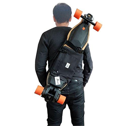 Mochila para Llevar el Longboard electrico, Skateboard Completo, Idea de Regalo San...