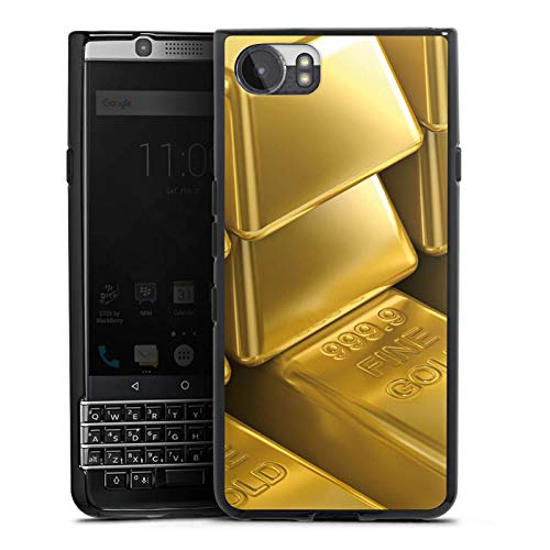 DeinDesign BlackBerry KeyOne Silikon Hülle Case Schutzhülle Goldbarren Gold Barren