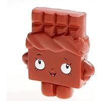 Squishies Ragazza,Twotwowin Chocolate Girl Super Squishy slow rising Stress per Giocare Felicemente 1 Pezzo