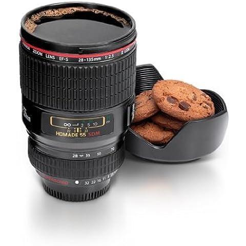 Camera Lens Mug Thermos del tè Acqua Liner viaggio termica 24-105mm EF della tazza di caffè