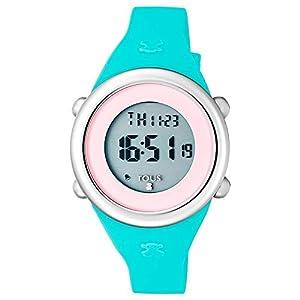 Reloj Soft Digital de acero con correa de silicona menta Ref:800350620
