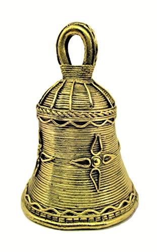 Generic omsai ES Handgefertigt Dhokra Metall Indian Home Decor Visitenkarte Ethnic Bell-Einfach und Dekorativ Tribal Art (Indian Home Decor)