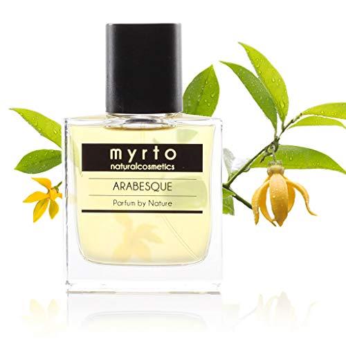 myrto-naturalcosmetics -Bio Natur Parfum – ARABESQUE – naturreines Eau de Parfum für Frauen und Männer | ohne Konservierungsstoffe ✔ ohne synthetische Duftstoffe ✔ 100%