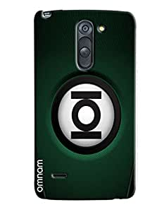 Omnam Ioi Ball With Green Base Printed Designer Back Cover Case For LG G3 Stylus