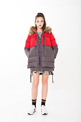 KLING Damen Mantel Rot