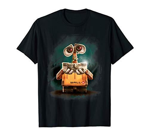 Disney Pixar Wall-E Plant Shoe Night Graphic T-Shirt (Wall-e Pixar)