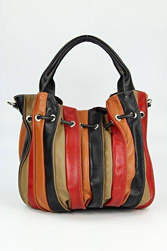 Belli - Borsa shopper Donna Multicolore (multicolor 12)