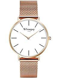 Reloj Chic–Entrega 48h–vendedor francés/reloj Plate Tendance elegante en acero inoxidable