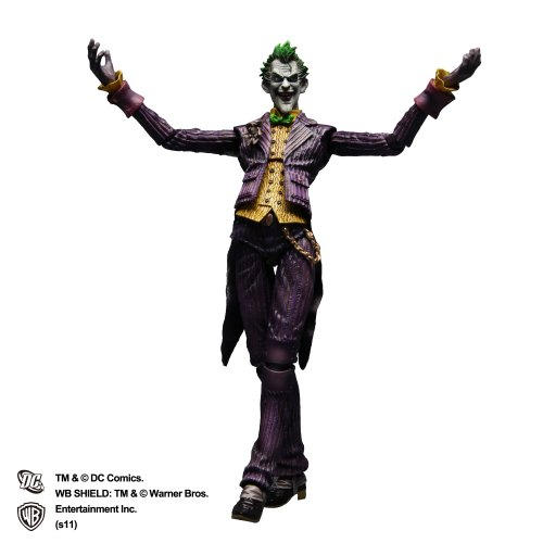 Batman Arkham Asylum Play Arts Kai Joker (PVC Figure) SQUARE ENIX [JAPAN] [Toy] (japan import)