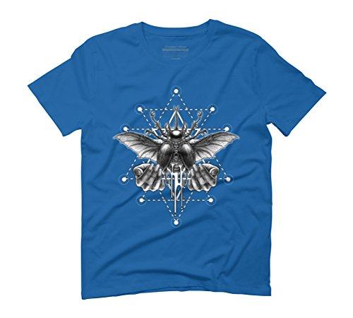 Winya No. 103 Men's Graphic T-Shirt - Design By Humans Royal Blue