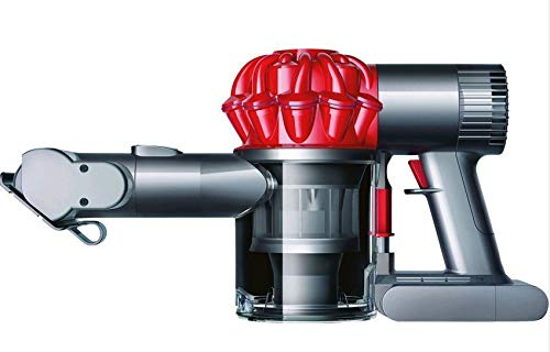 Dyson V6 Car & Boat Extra beutel- & kabelloser Staubsauger inkl. Extra-hart & -soft Bürste, motorisierter Mini-Elektrobürste & Fugendüse | Beutelloser Handstaubsauger mit Lithium-Ionen Akku -