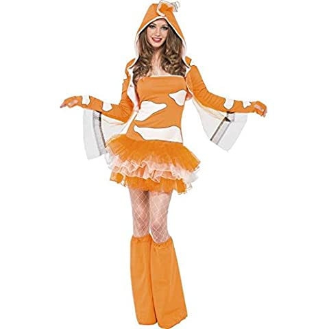 Costume fever talla l, diseño de pez payaso