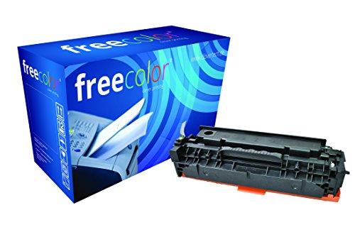 Preisvergleich Produktbild freecolor CC530A für HP Color LaserJet CP2025, Premium Tonerkartusche, wiederaufbereitet, 3.500 Seiten, 5 Prozent Deckung, BLACK