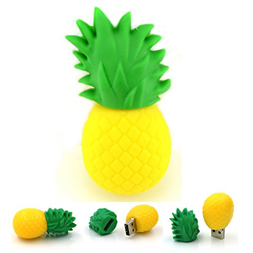 tomax-ananas-frucht-pvc-als-usb-stick-30-mit-16-gb-usb-30-speicherstick-flash-drive