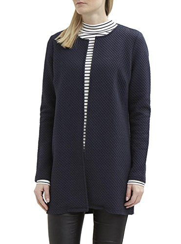 Vila Clothes Vinaja New Long Jacket-Noos, Chaqueta Punto para Mujer, Rosa (Peach...