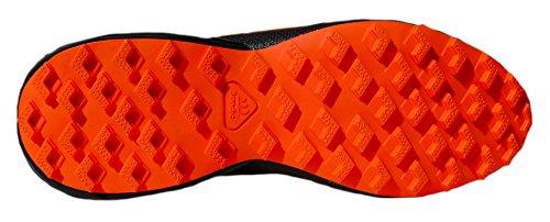 gibra , Chaussures de course pour homme Bleu foncé/orange