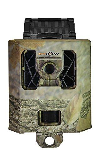 Spypoint Metallgehäuse SB-100 Kameras mit 42 LEDs (mit SOLAR ohne Antenne) Wildüberwachungskamerazubehör, Camo, S