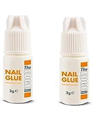 The Edge 3G Adhesive False Super Strong Nail Tips - Pack of 2