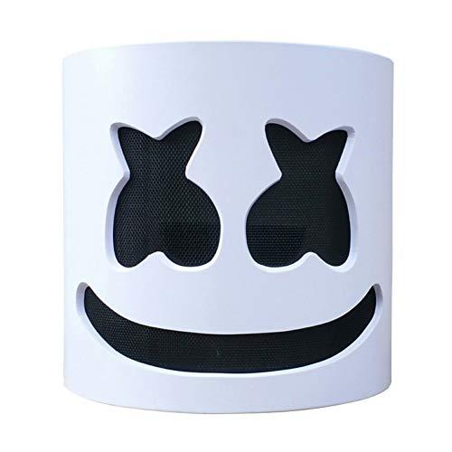 Kopf Kostüm Große - Balai Marshmallow Helme DJ Vollkopf LED Maske DIY Cosplay Halloween Party Bar Musik Requisiten Neuheit Leuchten Anonym Festival Kostüm für Kinder