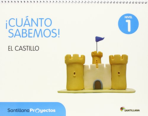 Cuanto sabemos: Los castillos Nivel 1, 3 años por Varios autores