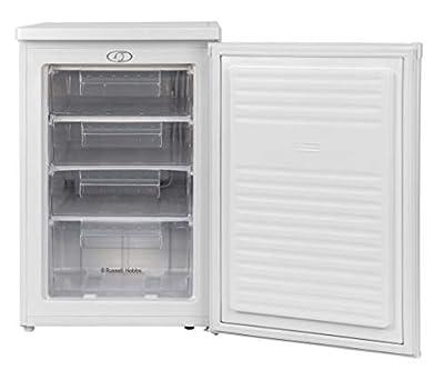 Russell Hobbs RHUCFZ55-H Freestanding Wide Under Counter Freezer White 55cm