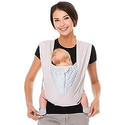 Cuby Best Porte-bébé en coton bio confortable type X pour nouveau-né