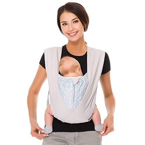 Cuby Meilleur biologique Porte-bébé confortable en coton Echarpe de X-Type nouveau-né Sling Portabebe ERGONOMICA Kanguru Porte-bébé nominale