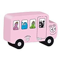 Barbo Toys 2210 Barbapapa Barba Toys 50 Pieces 9 Shaped Transport Puzzels, Multi-Color