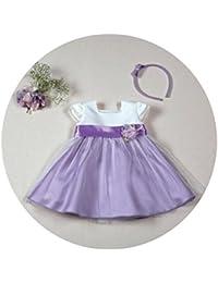 Vestido de Ceremonia, Bodas,Arras de Bebe Niña para 3 Años, Fabricación Española