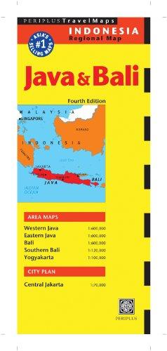 Java and Bali Map (Periplus Travel Maps)