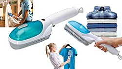 Multi-Functional Portable Travel Steam Iron Brusher+ Removable Brusher+ Water Container