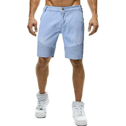 Männer Sommer Kurze Jeans Hommes Jean Shorts Bermuda Skate Board Harem Fashion Jean (Kind Gelbe Ranger Kostüme)