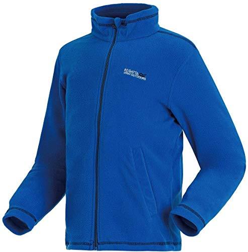 Regatta Kinder King II Full Zip Fleece L Oxford Blue/Black -