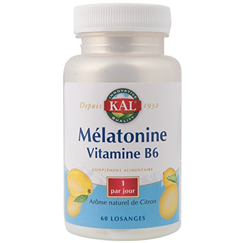 Mélatonine + Vitamine B6 - 60 comprimés