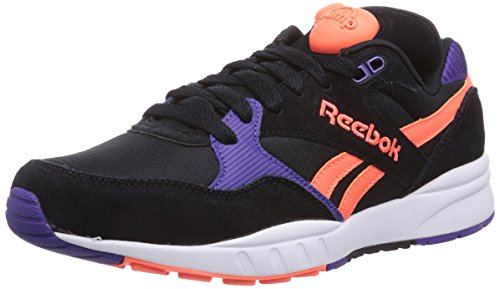 Reebok Pump Infinity Runne, Chaussures de course mixte adulte Multicolore - Mehrfarbig (Black/Sport Violet/Vitamin/White)