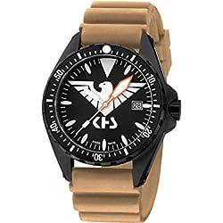 KHS Tactical Watches MissionTimer 3   Eagle One KHS.MTE.DT Militär Armbanduhr